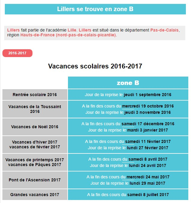 Vacances scolaires 2016 2017 related keywords vacances scolaires 2016 2017 long tail keywords - Vacances scolaires 2016 lyon ...
